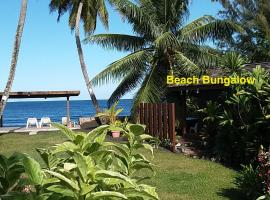 Beach Bungalow Pointe Vénus, Mahina