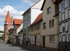 Ferienwohnung beim Dünzebacher Torturm, Eschwege (Röhrda yakınında)