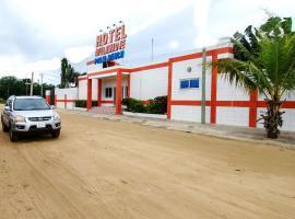 Hotel Ayelawadje Palm Beach, Cotonou (Regiooni Sèmè-Kpodji lähedal)