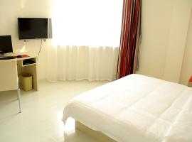 Thank Inn Chain Hotel Shandong Binzhou Bohai Nine Road, Binzhou (Xinbincheng yakınında)