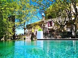 Le Mas des 5 Fontaines, Sisteron (рядом с городом Servoules)