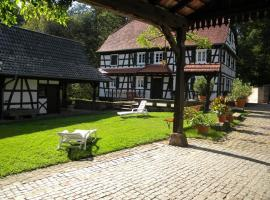 Ferme Auberge du Moulin des Sept Fontaines, Drachenbronn (рядом с городом Birlenbach)