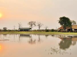 Nogatsaa Pans Lodge, Kasane (Chobe yakınında)