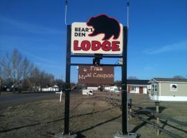Bear's Den Lodge, Shaunavon (Val Marie yakınında)