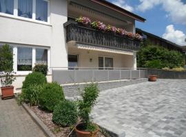 Ferienwohnung Meisenzahl, Buergstadt (Freudenberg am Main yakınında)