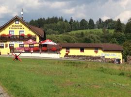 Penzion U Larvů, Železná Ruda (Bayerisch Eisenstein yakınında)