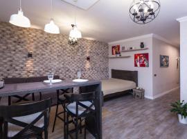 Appartament LOFT_POBEDITELEY, Minsk (Borovaya yakınında)