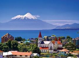 Vista al Lago y Volcanes