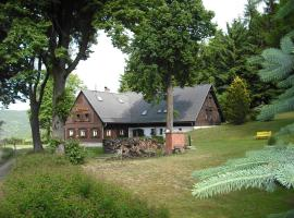 VEGGIE PENZION Novina, Kryštofovo Údolí (Křižany yakınında)