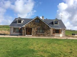 Beautiful Home on Lake Carrowmore, Belmullet (рядом с городом Ross Port)