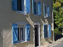 La Grande Maison de Brezilhou, Campagne-sur-Aude (рядом с городом Nébias)