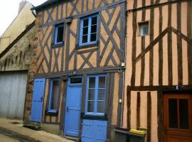 La maison bleue, Nogent-sur-Seine (рядом с городом Courtioux)