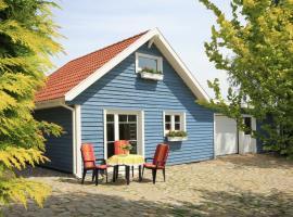 Das blaue Ferienhaus, Steffenshagen (Wittenbeck yakınında)