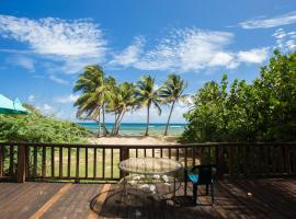 Beach Front Vieques Apartment & Beach