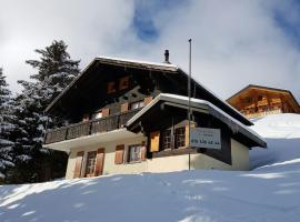 La Marmotte, Val d'Illiez (Les Crosets yakınında)