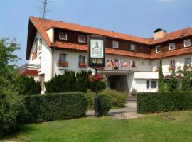 Hotel Zvíkov, Zvíkovské Podhradí (Cerhonice yakınında)