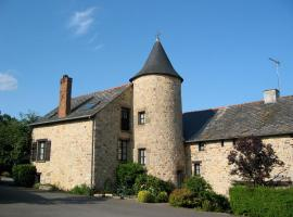 Chambres d'Hôtes de la Ferme Auberge de Mésauboin, Billé (рядом с городом Combourtillé)