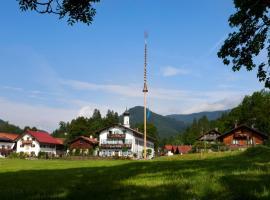 Gasthof Jachenau, Jachenau (Fall yakınında)