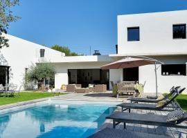 Architect-designed villa surrounded by nature, Экс-ан-Прованс (рядом с городом Les Gervais)