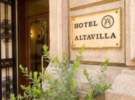 Hotel Altavilla, Róma