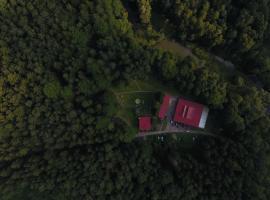 Ośrodek leśny Rajsko w Zapuście
