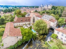 Le Couvent des Cordeliers, Verteuil-sur-Charente (рядом с городом Chenommet)