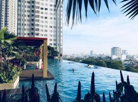 Henry's Apart Sunrise City #Luxury 2BR 30th, Ho Chi Minh-stad (in de buurt van Phu Trung)