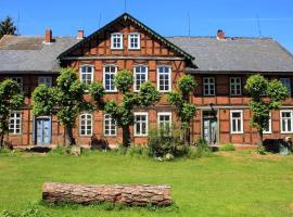 kulturhaus wahrenberg, Wahrenberg (Wanzer yakınında)