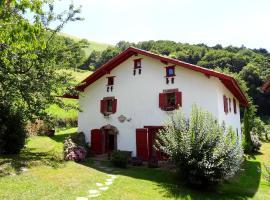 Chambres d'hôtes Idiartekoborda, Saint-Étienne-de-Baïgorry (рядом с городом Banca)
