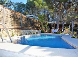 Villa Verde Sitges, Sant Pere de Ribes (Jafra yakınında)