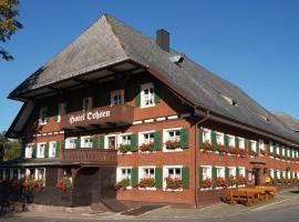 Hotel Ochsen, Lenzkirch (Saig yakınında)