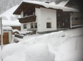 Appartment Sarlo, Sankt Anton am Arlberg
