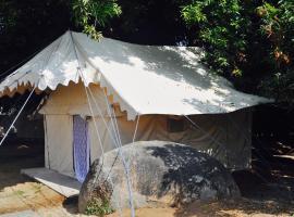 Tutti Hampi Tents & Cafe, Gangāwati (рядом с городом Хампи)