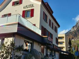 Hotel Deja Vu, Sargans (Weisstannen yakınında)
