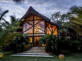 Udexere Eco House, Santa Cruz Cabrália (Emílio Magno yakınında)