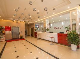Thank Inn Chain Hotel Jiangsu Wuxi Xishan District Leather City, Dongbeitang (Chaqiao yakınında)