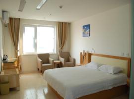 Thank Inn Chain Hotel Shandong Jiaozhou Beihuan Road, Jiaozhou (Hujiazhuang yakınında)