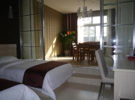 Thank Inn Chain Hotel Jiangsu Nantong Jiuwei Bay, Nantong (Bawei yakınında)