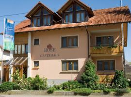 Biohotel-Restaurant Rose, Hayingen (Hohenstein yakınında)