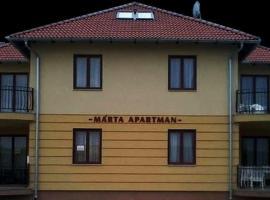 Marta Apartman Kehidakustany, Кехидакустани (рядом с городом Залачань)