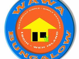 WAWA Bungalow - Sabang, Iboih