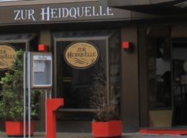 Hotel Zur Heidquelle, Blumenthal (Farge yakınında)