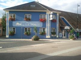 Hotel Restaurant De La Poste, Bantzenheim (рядом с городом Отмаршем)