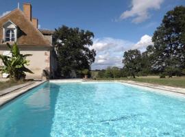 Domaine de Feuilloux, La Bouchatte (рядом с городом Vallon-en-Sully)