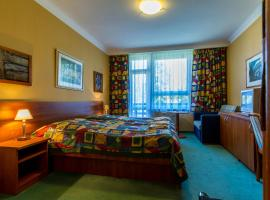 Garni hotel Petra, Slapy