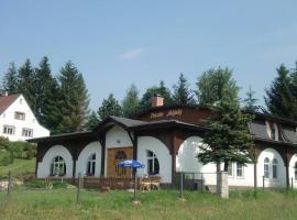 Penzion Mlýnky, Bělá pod Pradědem (Horní Domašov yakınında)