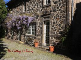 Manor House Cottage, Lacroix-Barrez (рядом с городом Ladinhac)