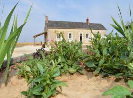 House La ferme de lessay, Channay-sur-Lathan (рядом с городом Saint-Laurent-de-Lin)