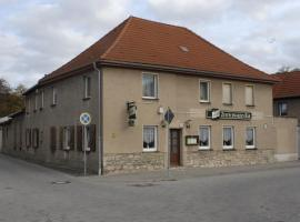 """Gasthaus ,,Zum schwarzen Bär"""", Güsten (Hecklingen yakınında)"""