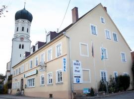 Garni-Hotel zur Post, Einsbach (Odelzhausen yakınında)